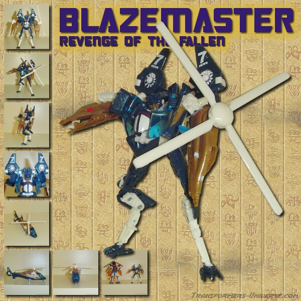 Revenge of the Fallen  Blazemaster (2009)