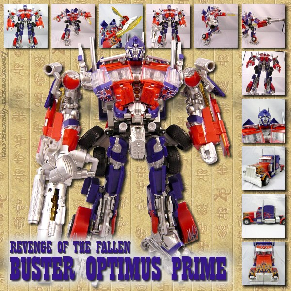 Revenge of the Fallen  Buster Optimus Prime (2009)