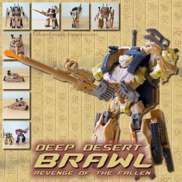 Revenge of the Fallen  Deep Desert Brawl (2009)