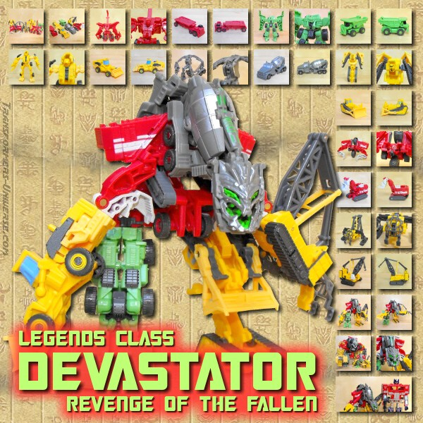 ROTF Devastator Legends