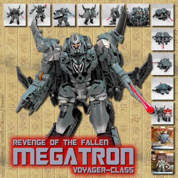 ROTF Megatron Voyager