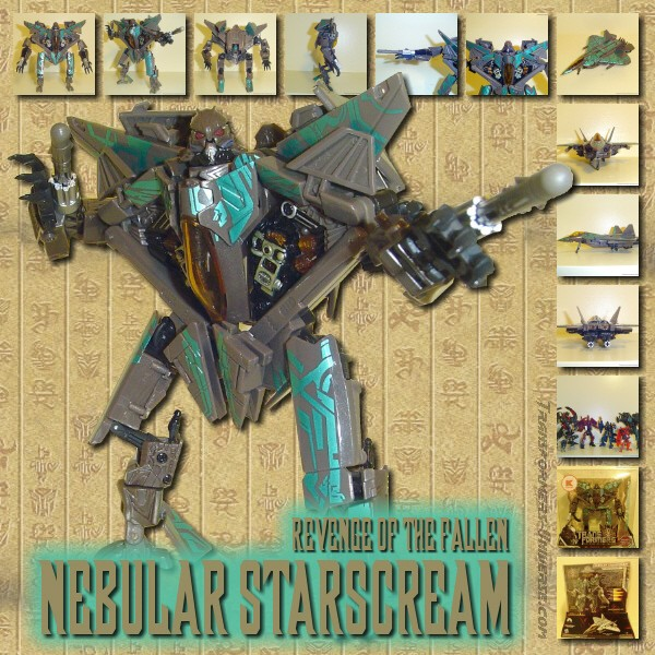 ROTF Nebular Starscream