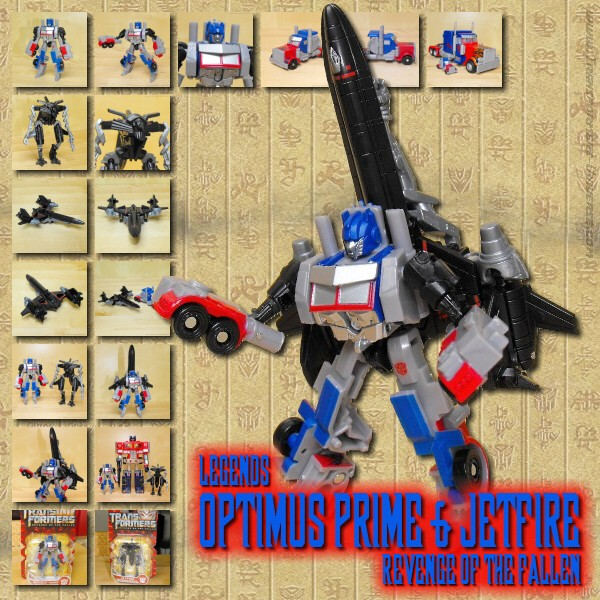 ROTF Optimus Prime & Jetfire Legends