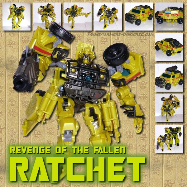 ROTF Ratchet Deluxe