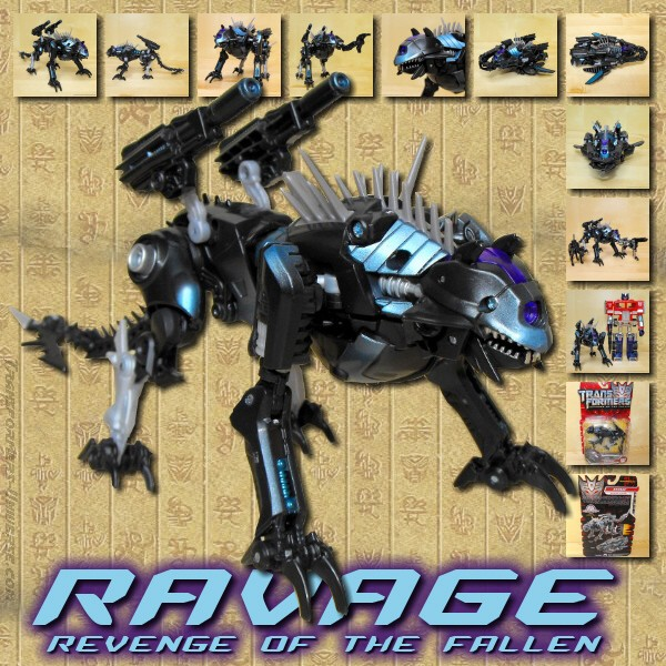 Revenge of the Fallen  Ravage (2009)
