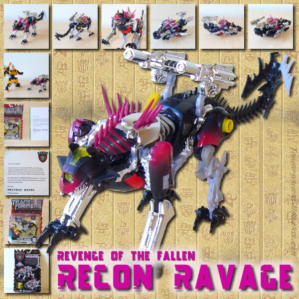 Revenge of the Fallen NEST Global Alliance Recon Ravage (2010)