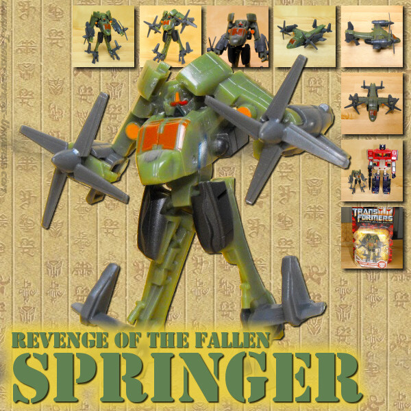 Revenge of the Fallen  Springer (2009)