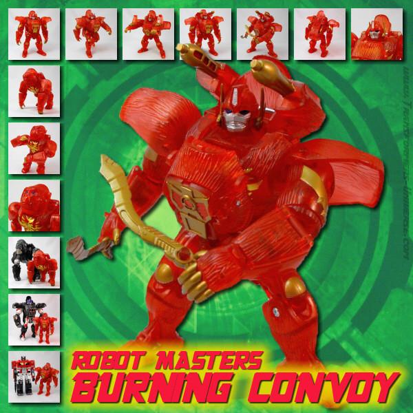 Robotmasters Burning Convoy
