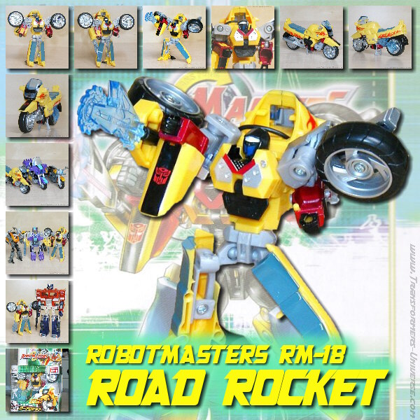 Robotmasters Road Rocket