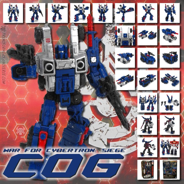 G1 Cog Complete Sticker Decal Sheet