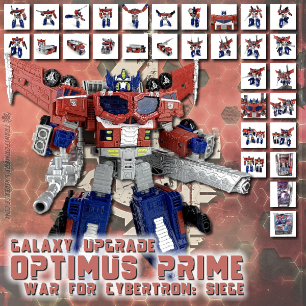 Siege Galaxy Upgrade Optimus Prime