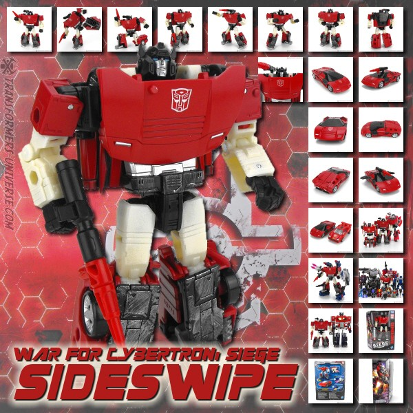 War for Cybertron: Siege  Sideswipe (2018)