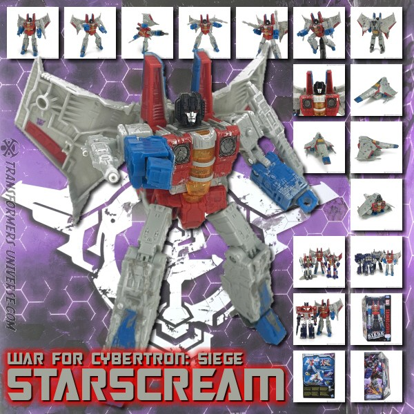War for Cybertron: Siege  Starscream (2019)