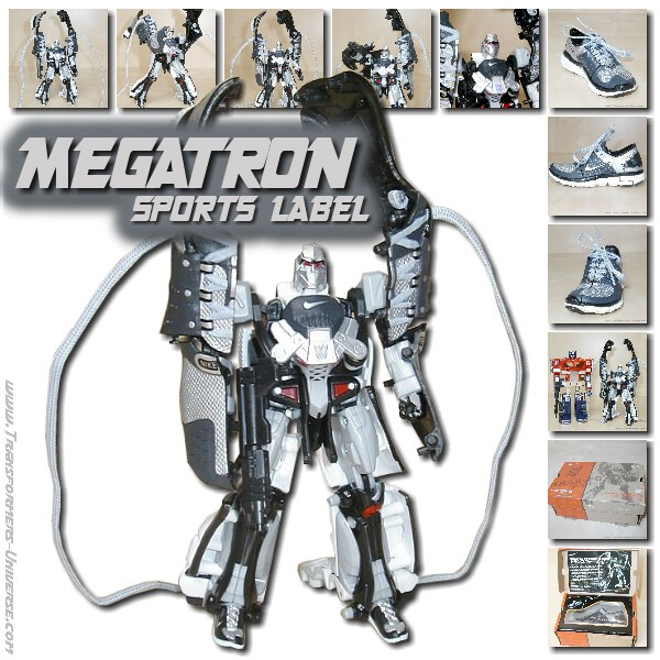 Sports Label Megatron feat. Nike Free 7.0