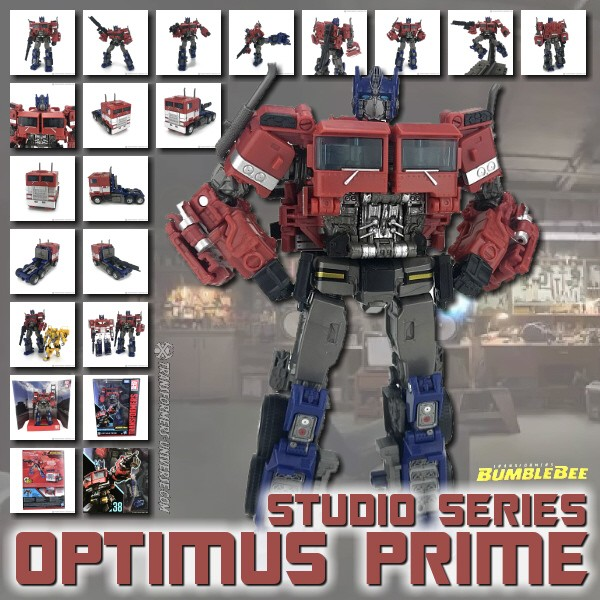 Studio Series Optimus Prime (Bee Movie)