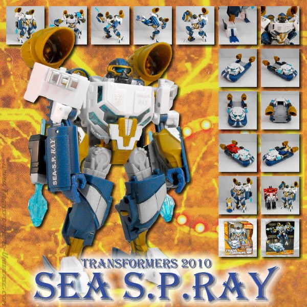 Hunt for the Decepticons  Seaspray (2010)