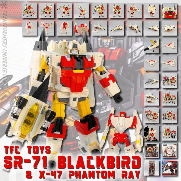 TFC SR-71 Blackbird & X-47 Phantom Ray