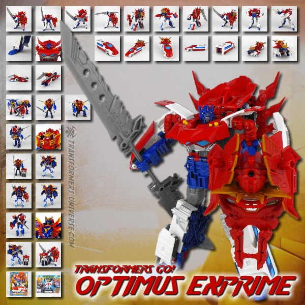 Go! G26 Optimus Exprime