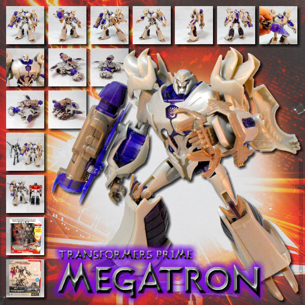 Prime Robots in Disguise Megatron (2012)