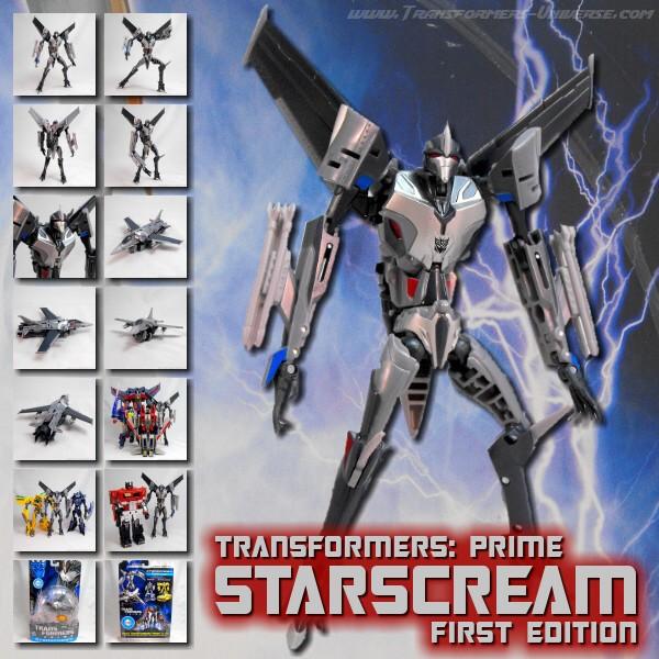 Prime Starscream First Edition