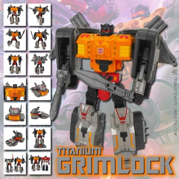 Titanium Grimlock