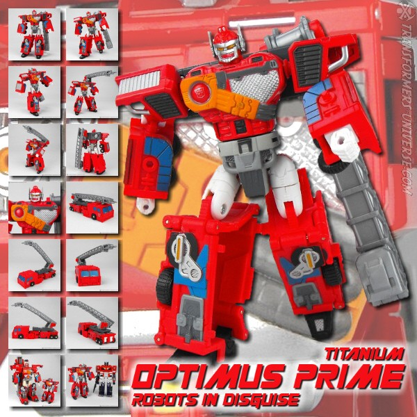 Titanium Optimus Prime RID