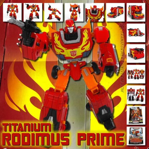 Titanium Rodimus Prime