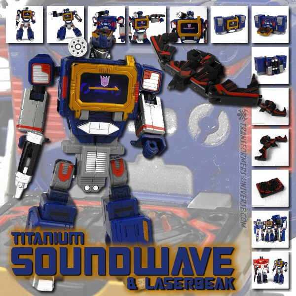 Titanium Soundwave & Laserbeak