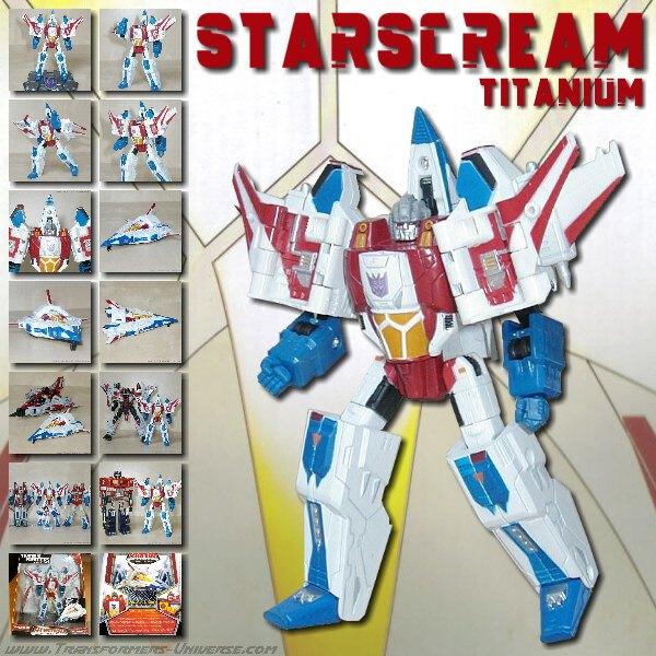Titanium Starscream