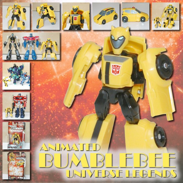 Universe Animated Bumblebee Legends