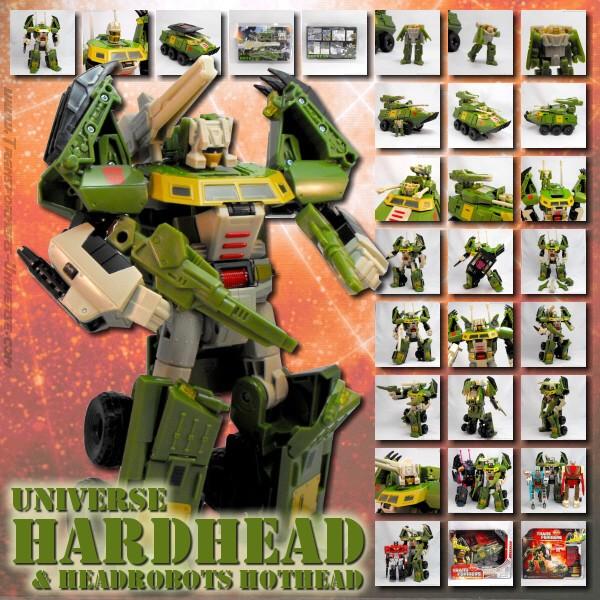 Universe Hardhead & Headrobots Hothead