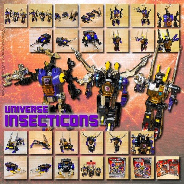 Universe Insecticons