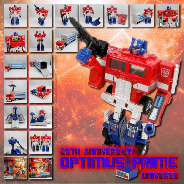 Universe Optimus Prime 25th Anniversary
