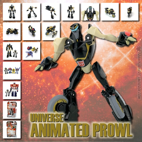 Universe Animated Prowl Legends