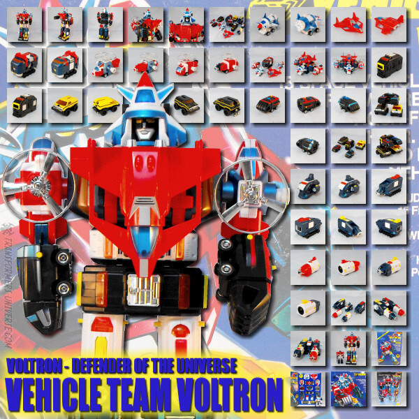 Voltron Vehicle Team Voltron