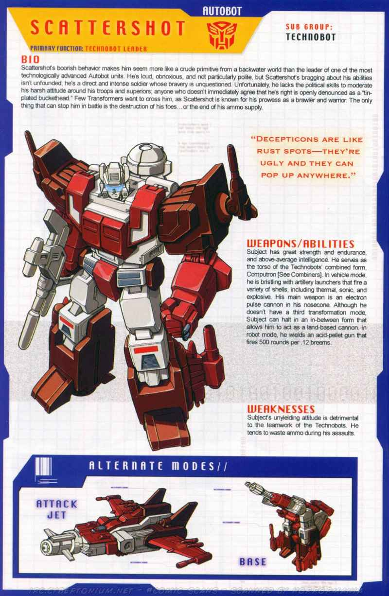 transformers universe g1 technobots 36 47