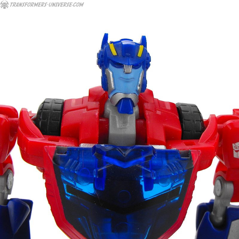 Animated Optimus Prime Cybertron Mode (2008)