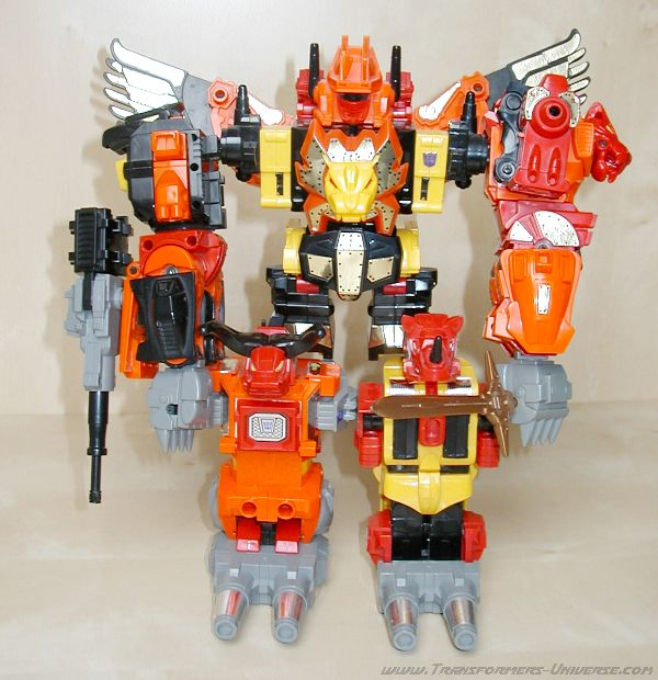 Generation 1 Predaking (1986)
