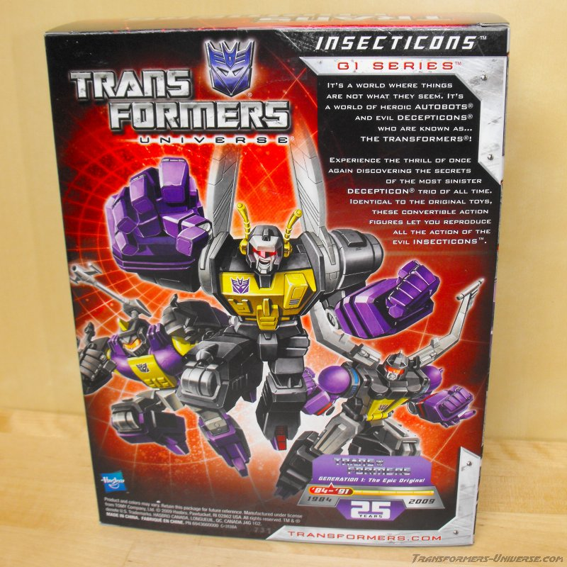 Transformers Universe Insecticons Universe Insecticons 25