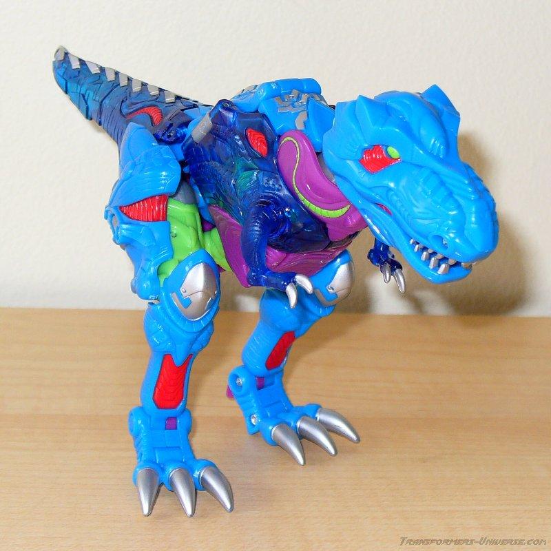 Der knallbunte T-Rex