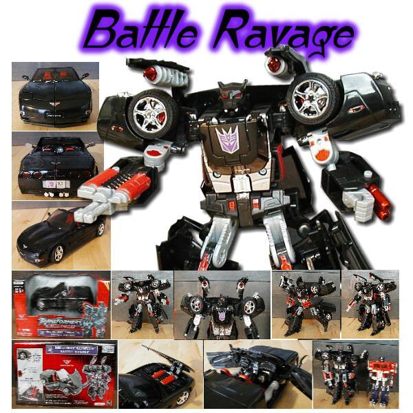 Alternators Battle Ravage