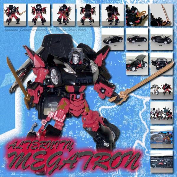 Alternity Megatron Daimond Black