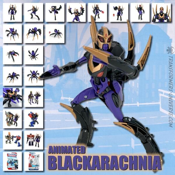 Animated Blackarachnia