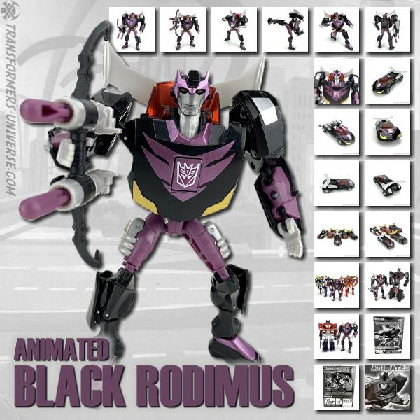 Animated Black Rodimus