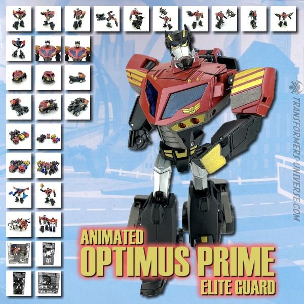Animated Elite Guard Optimus Prime