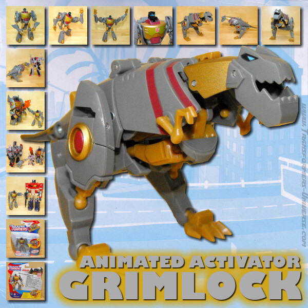 Animated Grimlock Activator