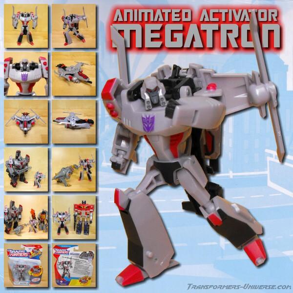 Animated Megatron Activator