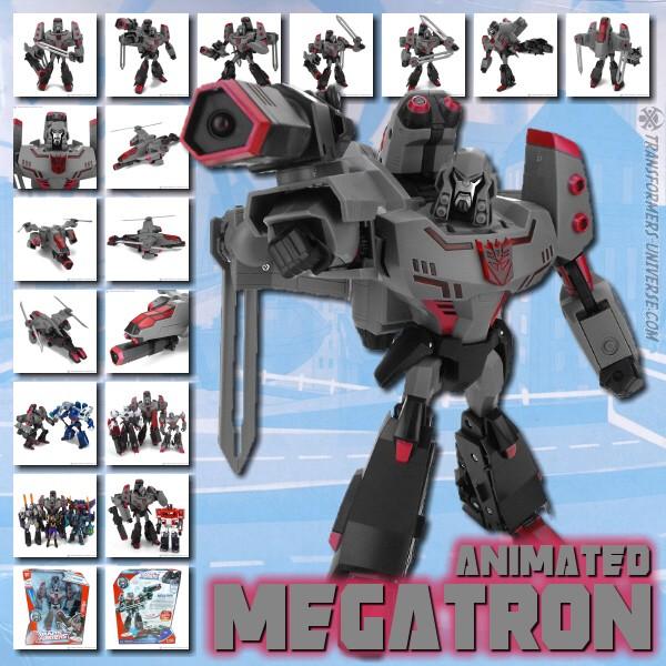 Animated Megatron