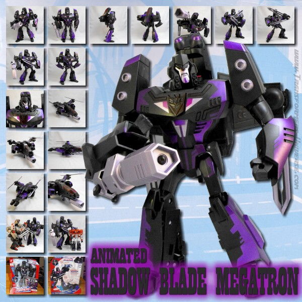 Animated Shadow Blade Megatron