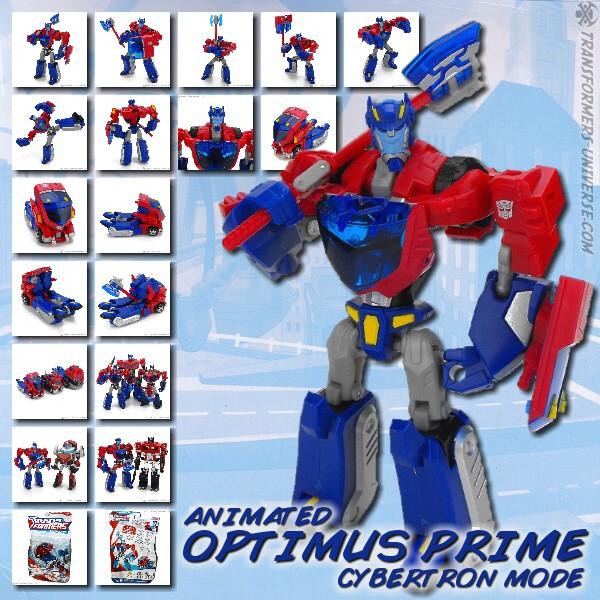 Animated Optimus Prime - Cybertron Mode